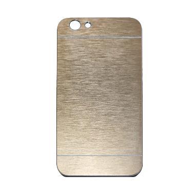 Motomo Hardcase Casing for Oppo F1S Selfie Expert A59 - Gold