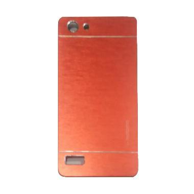 Motomo Hardcase Casing for Oppo Neo7 A33 - Merah