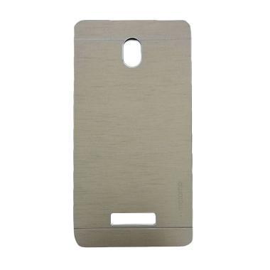 Motomo Hardcase Casing for Oppo Yoyo R2001 - Silver