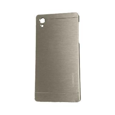 Motomo Hardcase Casing for Sony Xperia Z5 - Silver