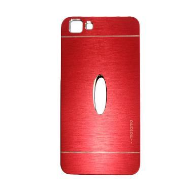 Motomo Metal Hardcase Casing for VIVO Y35 - Red