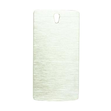 Motomo Metal Hardcase Casing for Oppo Joy 3 - Silver