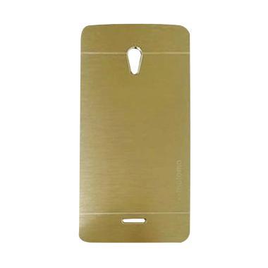 Motomo Metal Hardcase Casing for OPPO Joy R1001 - Gold