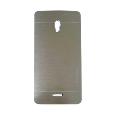 Motomo Metal Hardcase Casing for OPPO Joy R1001 - Silver