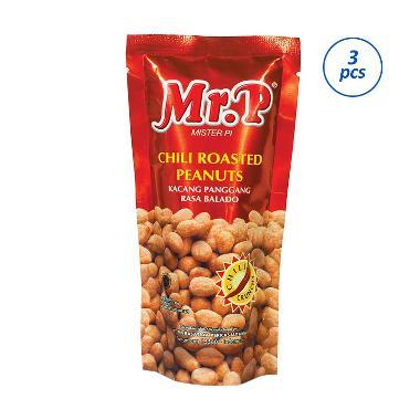 P Kacang Panggang Rasa Balado [80 g/3 pcs]