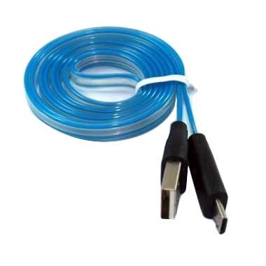 MR82 Micro USB Data Charger Full Light Kabel Data