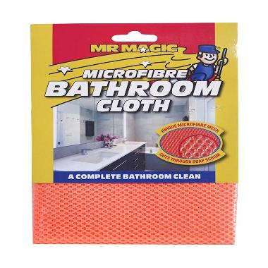 Mr Magic Bathroom Cloth Microfiber - Orange