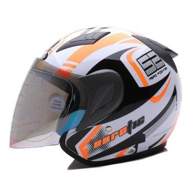 MSR Helmet Javelin Aerotic Putih Oren Neon ... b185e5037e