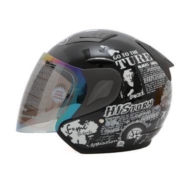 MSR Helmet Javelin History Hitam Helm Open Face