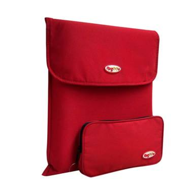 Mugoou Softcase + Cablecase sleeve Sexy Red