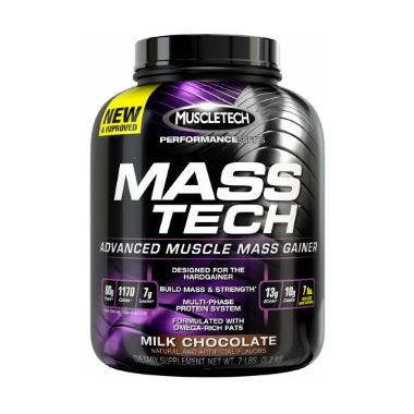 Muscletech Mass Tech Milk Chocolate Suplemen [7 lbs]