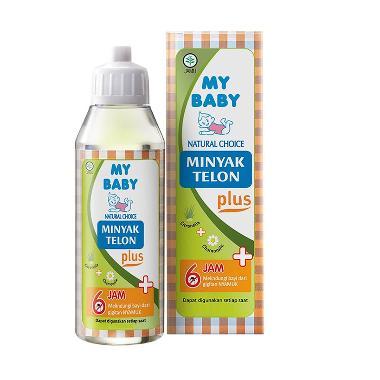 My Baby Minyak Telon Plus 90 ML