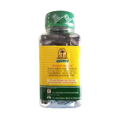 Nabawi Habbatusauda Cap Kurma Ajwa Minuman Herbal [120 Kapsul]