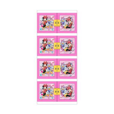 Naiba Lemari Plastik Minnie 8664 XP - Pink