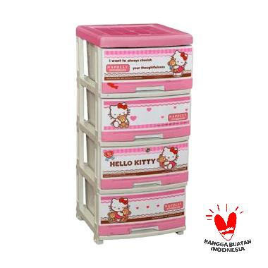 Napolly Hello Kitty Series SFC2-4000 HKBF Lemari 4 Susun
