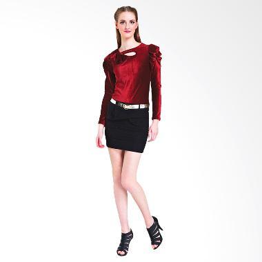 Nataria 803717 Blouse Wanita - Red