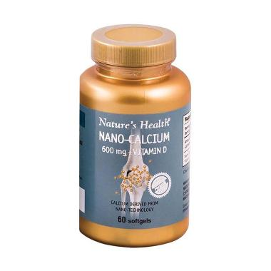 harga Nature's Health Nano Calcium Suplemen [60 softgel] Blibli.com