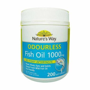 Natures Way Fish Oil Mg