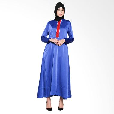 Naura Naeem 81611520 Blue Gamis
