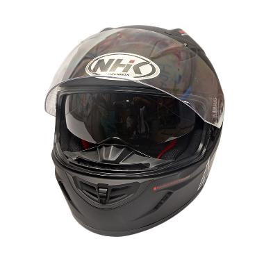 NHK GP 1000 Doff Helm Full Face - Black