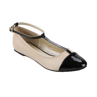 Nicholas Edison Tasya Flat  Shoes - Cream