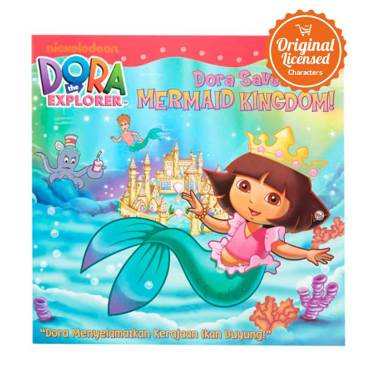 Nickelodeon Dora the Explorer Dora Saves Mermaid Kingdom Komik Book