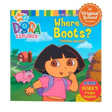 Nickelodeon Dora the Explorer Where is Boots Komik Book