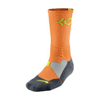 Nike KD Hyperelite Basketball Crew SX4814-877 Oranye Kaos kaki Basket