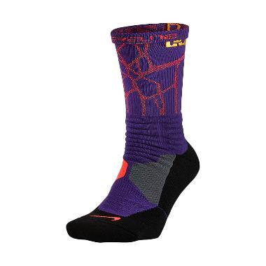 Nike Lebron Hyperelite Basketball C ... 588 Ungu Kaos kaki Basket