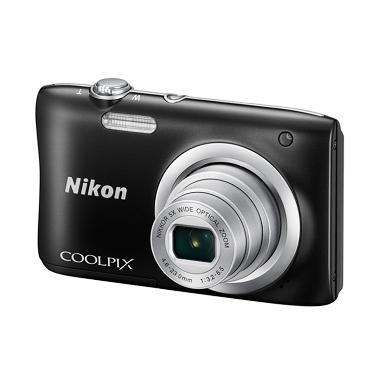 Nikon Coolpix A100 Kamera Pocket +  ... rpasang Hitam Tokocamzone