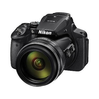 Nikon Coolpix P900 Kamera Prosumer - Black + Free LCD Screen Guard