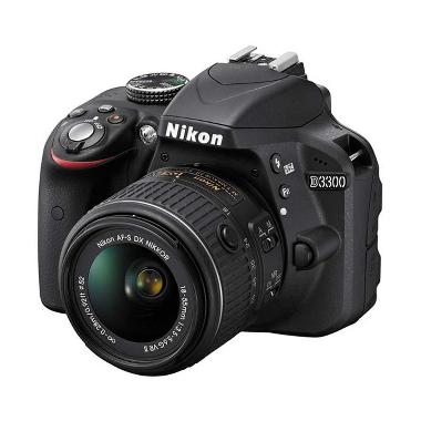 Nikon D3300 Kit 18-55mm VR Black Kamera DSLR