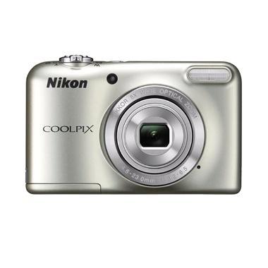 Nikon Coolpix A10 Kamera Pocket - Silver + Free LCD Screen Guard