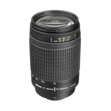 harga Nikon AF Nikkor 70-300mm f/4-5.6G Lensa Kamera Blibli.com