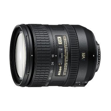 Nikon AF-S 16-85mm f/3.5-5.6G ED DX VR Lensa Kamera