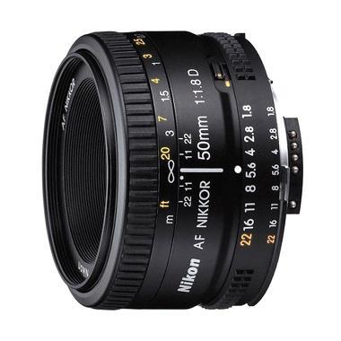 Nikon AF-S 50mm f/1.8 D Lensa Kamera