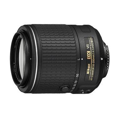 Nikon AF-S 55-200mm VR II f/4-5.6G ED Lensa Kamera