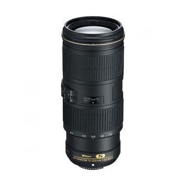 Nikon AF-S 70-200mm f/4G ED VR Lensa Kamera