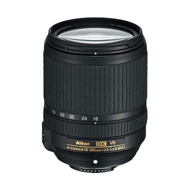 Nikon AF-S DX Nikkor 18-140mm f/3.5-5.6G ED VR Lensa Kamera - Ladang