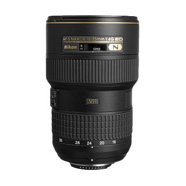 Nikon AF-S NIKKOR 16-35mm f/4G ED VR Lensa Kamera - Hitam