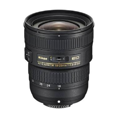 Nikon AF-S Nilkkor 18-35mm f/3.5-4.5G ED Lensa Kamera DSLR