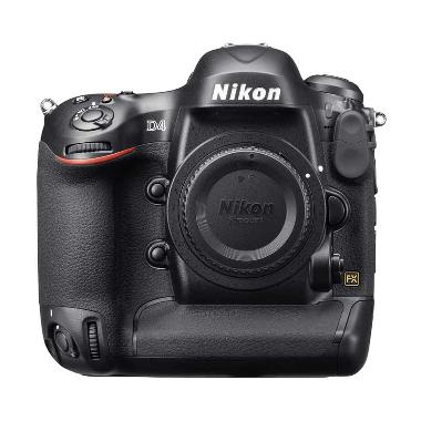 harga Nikon D4 Body Only Kamera DSLR - Black + Free Tas + Screen Guard Blibli.com