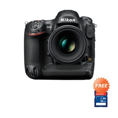 Nikon D4S Kamera DSLR + Memory Card SDHC 16 GB
