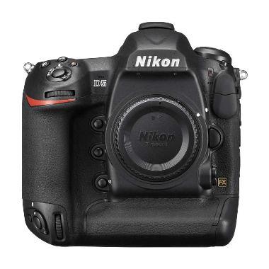 Nikon D5 Body Only [CF] Kamera DSLR - Black + Memory CF Sandisk 16GB + Tas + LCD Screen Guard