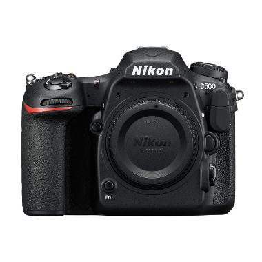 Nikon D500 Kamera DSLR [Body Only] - FREE Memori 16GB + Screen Guard