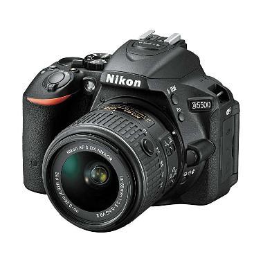 Nikon D5500 Kit AF-P 18-55mm G VR K ... k + Free LCD Screen Guard