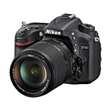 NIKON D7100 (24.1MP DX-format CMOS  ... 40mm f/3.5-5.6G ED VR KIT