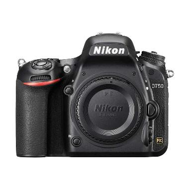 Nikon D750 Body Only Kamera DSLR - Black + Free LCD Screen Guard