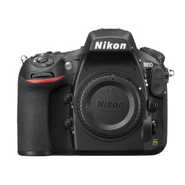 Nikon D810 Kamera DSLR - Hitam [Body Only]