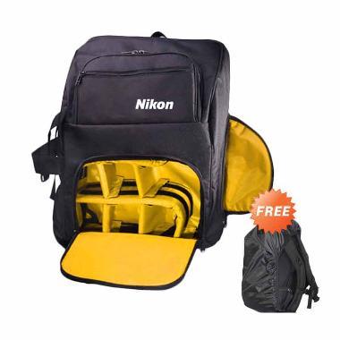 Nikon Kode G Ransel Tas Kamera + Free Rain Cover